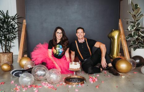 Rachel + Ryan Turn One | Coeur d'Alene Branding Photographer